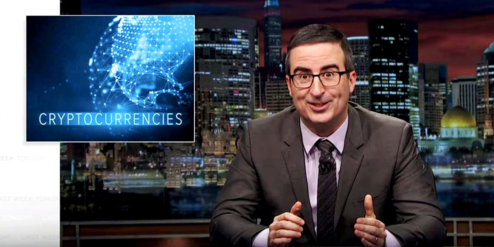 John Oliver Explains Why You Should Still Give a Sh*t About Bitcoin