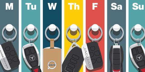 Keychain, Technology, Font, Fashion accessory, Electronic device, Vehicle, Illustration, Logo,