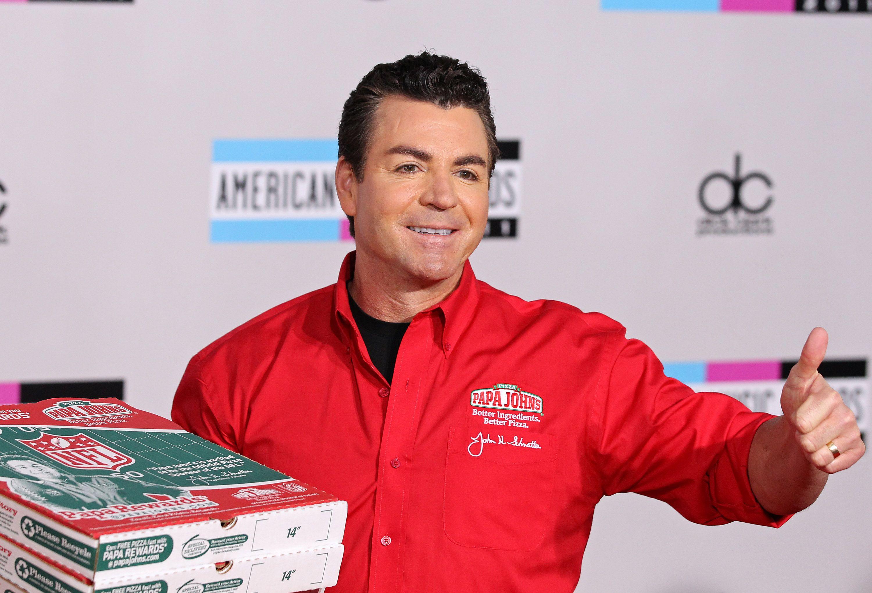 John Schnatter of Papa John's Pizza