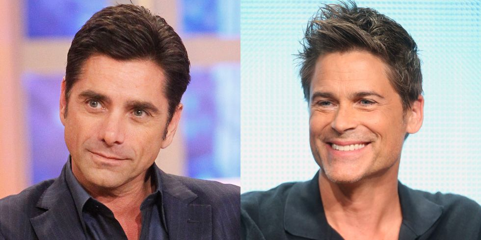 John Stamos and Rob Lowe Stamos posted video proof on Instagram that fans confuse him and Rob Lowe, tagged it #AwkwardVacationMoments and @'d the fellow actor.