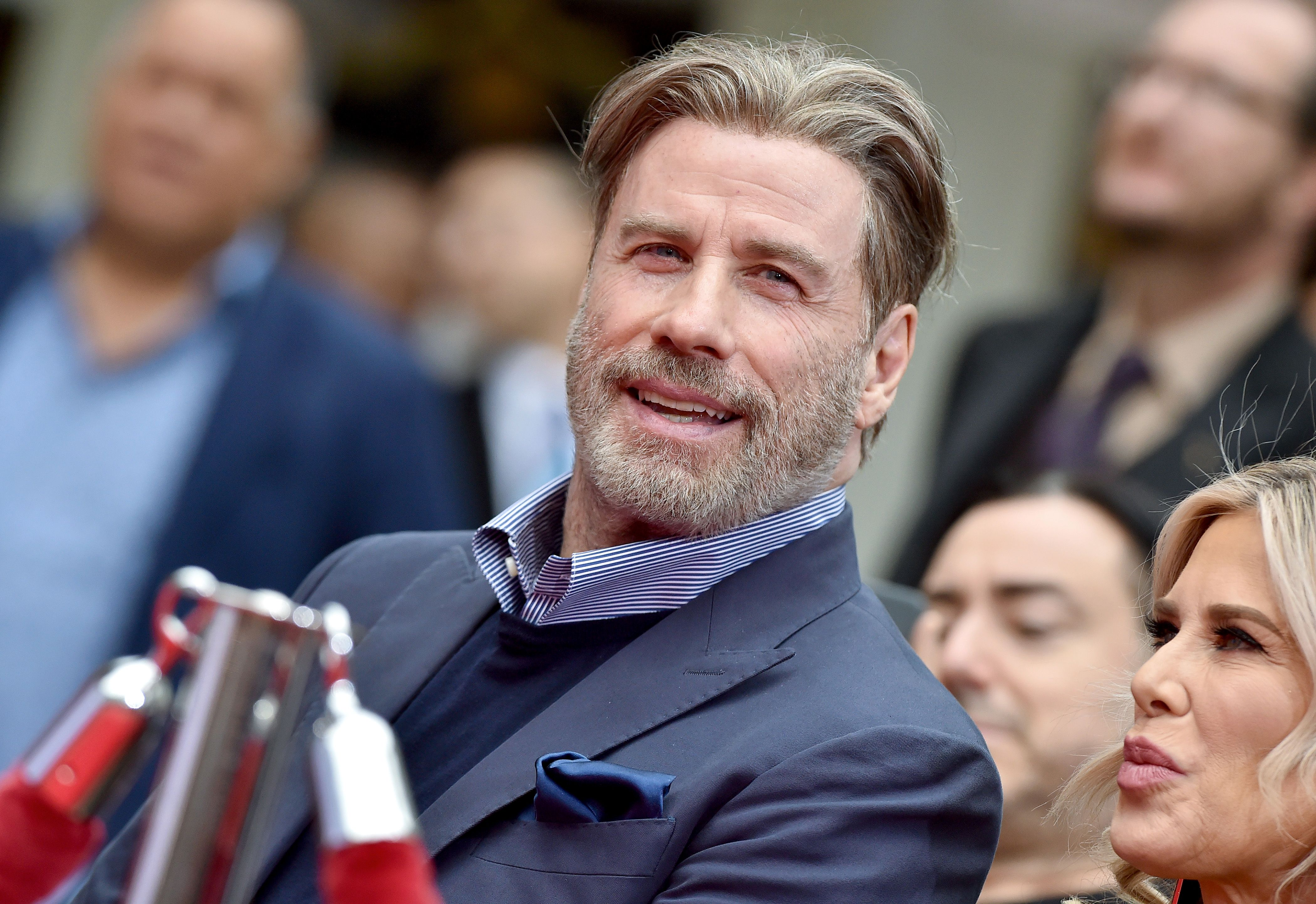John Travolta's New Look Is Baldly Going Where He's Never Gone Before