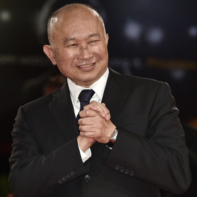 venice, italy   september 08  john woo walks the red carpet ahead of the manhunt zhuibu screening during the 74th venice film festival at sala darsena on september 8, 2017 in venice, italy  photo by pascal le segretaingetty images