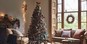 Amber - John Lewis autumn-themed Christmas 2018 decorating theme