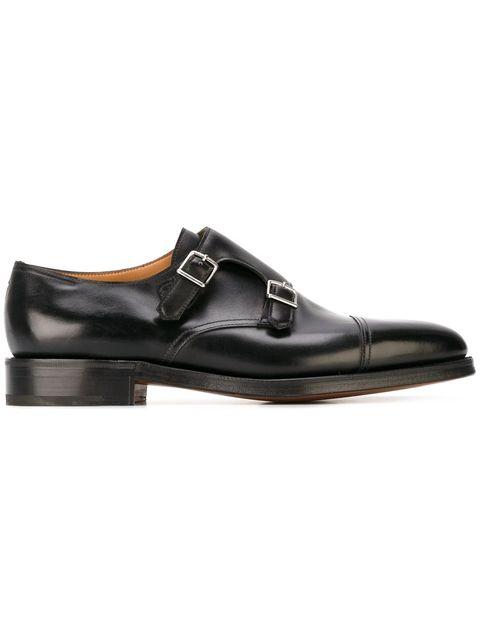 Footwear, Shoe, Dress shoe, Brown, Mary jane, Leather, Buckle, Oxford shoe, Fashion accessory,