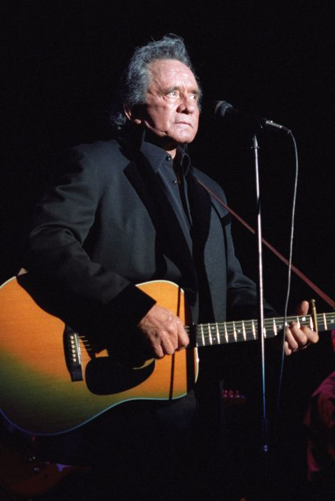 Johnny Cash At The Greek Theatre.