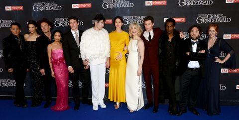 'Fantastic Beasts: The Crimes Of Grindelwald' - UK Premiere - VIP Arrivals