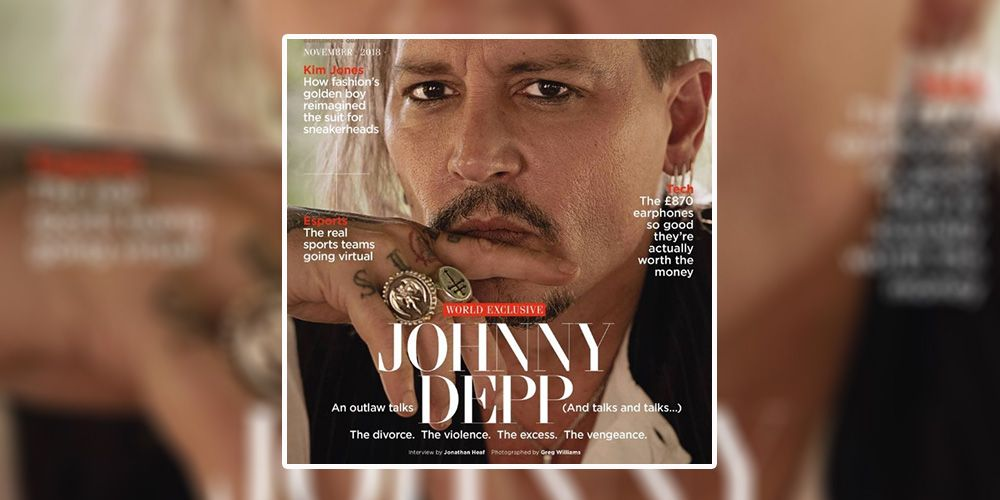 Johnny Depp GQ cover: British GQ is accused of glamourising domestic