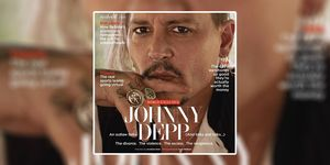 British GQ accused of glamourising domestic abuse with this Johnny Depp cover
