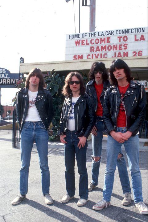 Ramones Portrait Session In LA