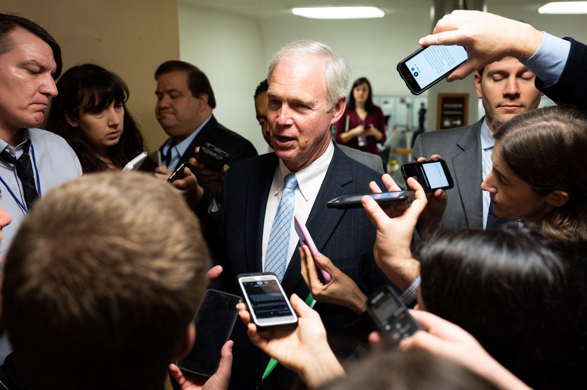 Senate Republicans Star in The Chickening Amid Trump's Retribution Frenzy