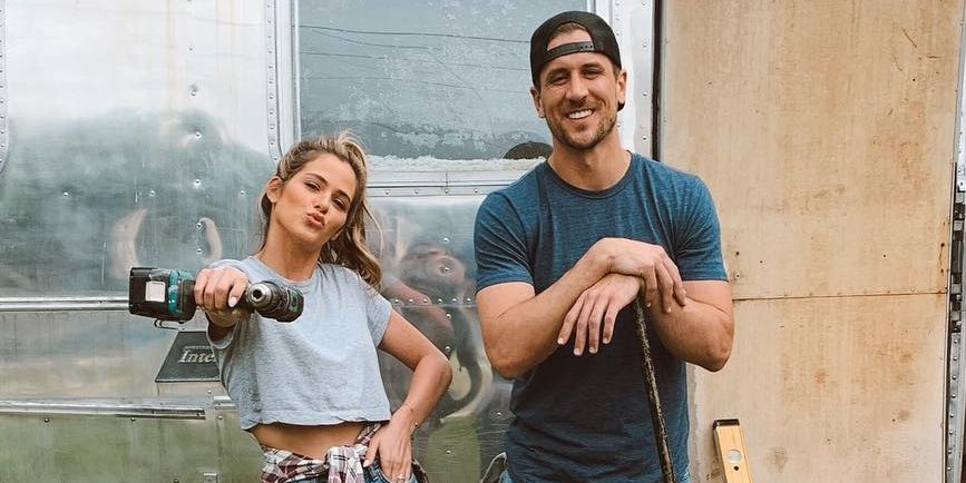 Jojo Fletcher And Jordan Rodgers In Cash Pad Premiere