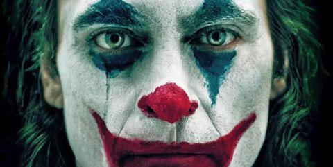 Face, Nose, Green, Head, Close-up, Supervillain, Cheek, Joker, Eye, Lip,