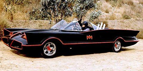 joker batmovil clasico adam west
