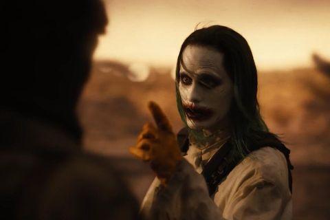 joker en la liga de la justicia de zack snyder