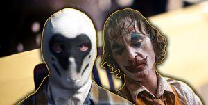 Joker Vs Watchmen Rorschach