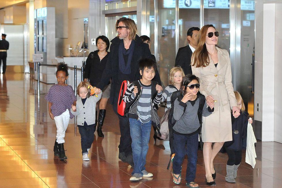The Jolie-Pitt Kids
