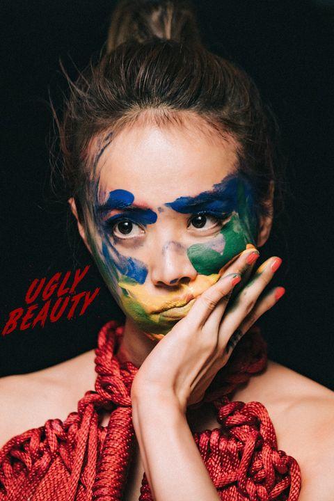 Face, Head, Beauty, Lip, Eye, Fashion, Cool, Forehead, Human, Mouth,