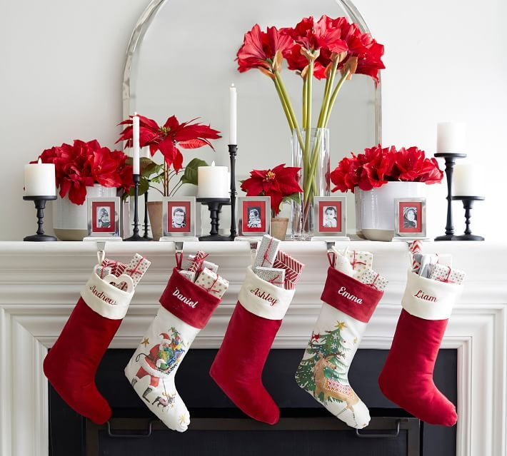 44 Christmas Stockings to Adorn Your Mantel in Style