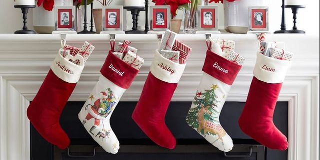The 45 Best Christmas Stockings Of 2020 Holiday Stocking Ideas