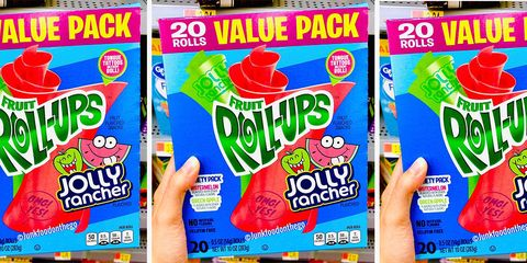 These New Fruit Roll-Ups Taste EXACTLY Like Jolly Ranchers