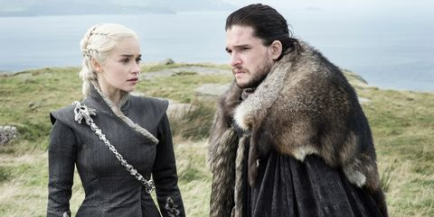 Daenerys and Jon at Dragonstone
