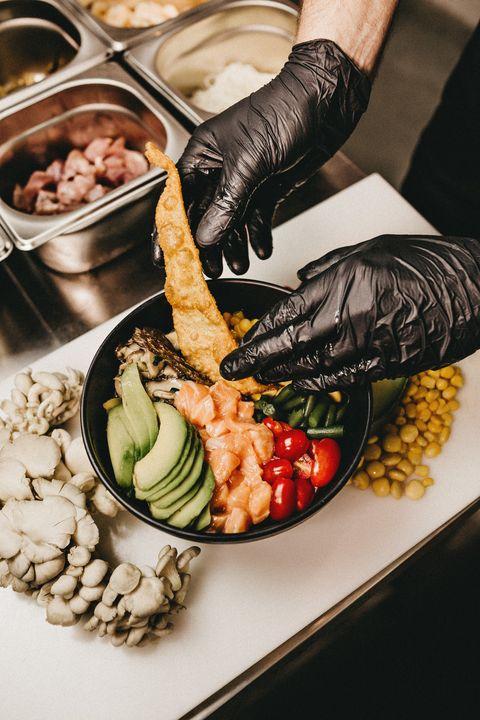 Food, Dish, Cuisine, Ingredient, Vegetarian food, Recipe, Side dish, Natural foods, Vegetable, Hand,
