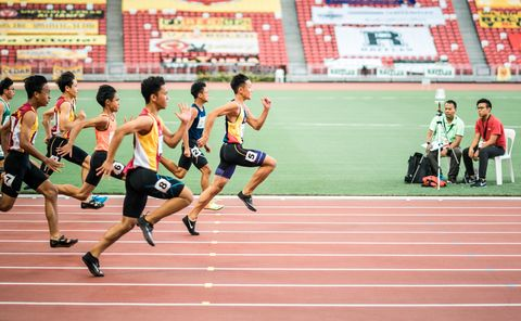 Track and field athletics, Running, Sports, Athlete, Athletics, Sprint, Race track, Recreation, Individual sports, Outdoor recreation,