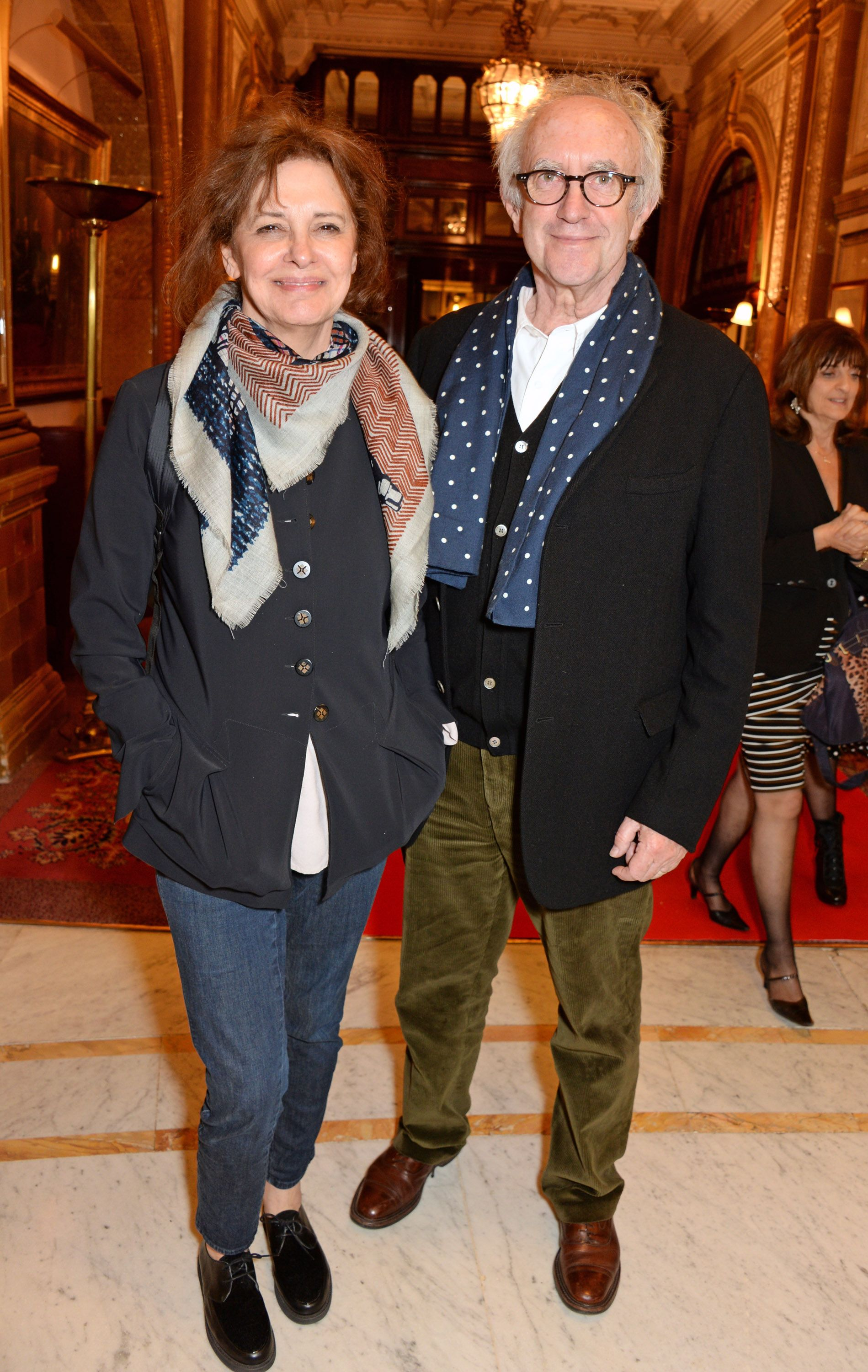Jonathan Pryce (The High Sparrow) and Kate Fahy The couple met in 1972 but waited 43 years to tie the knot.