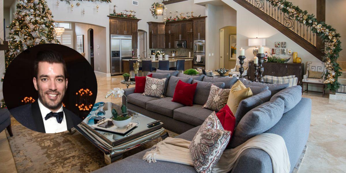 Tiny House Las Vegas >> Jonathan Scott Decorates Las Vegas Mansion For Christmas - Property Brothers Holiday Decor