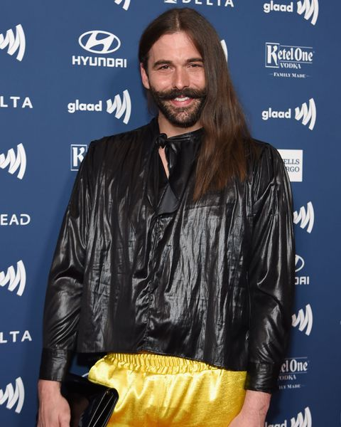celebrities with psoriasis: jonathan van ness