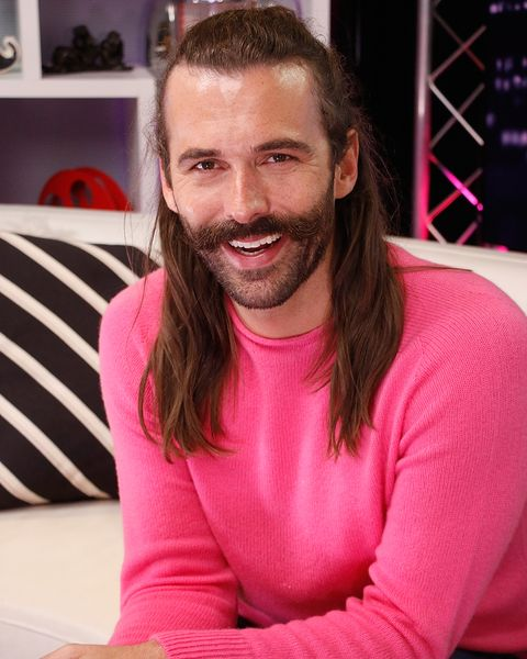 """""""Queer Eye"""" Fab Five Visit Young Hollywood Studio"""