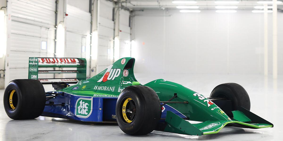 El primer F1 de Michael Schumacher puede ser tuyo (si puedes pagarlo, claro)