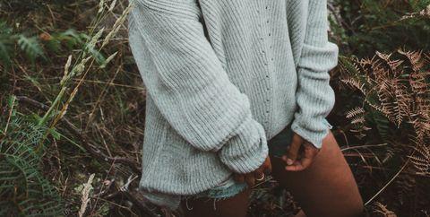 Wool, Woolen, Sweater, Knitting, Outerwear, Hand, Grass, Cardigan, Textile, Pattern,