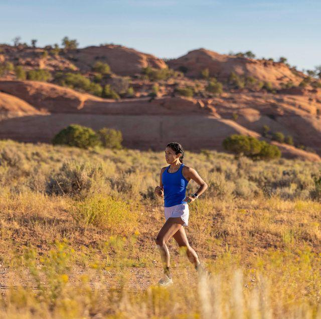 jordan marie daniel running in the mid west in september 2020