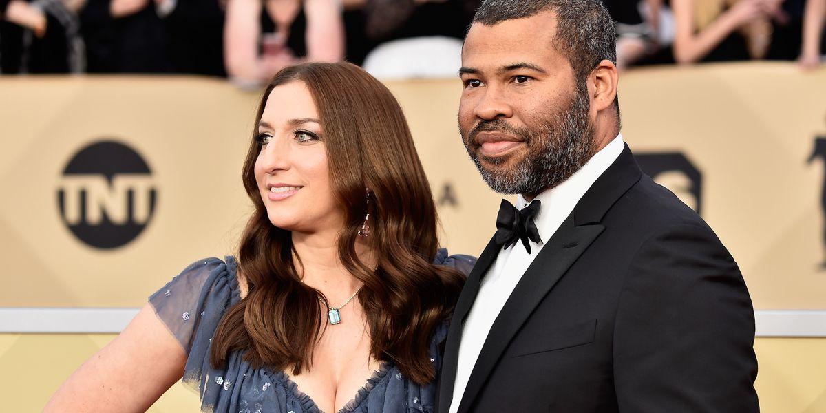 Twilight Zone Producer Jordan Peele And Wife Chelsea