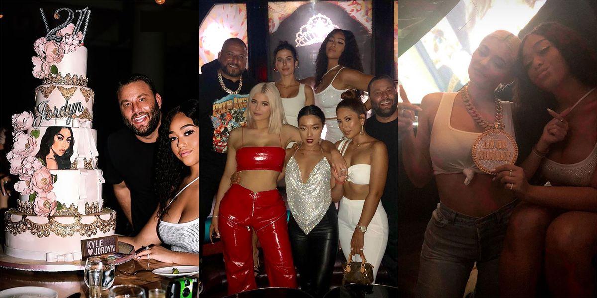 Kylie Jenner And Jordyn Woods Celebrate 21st Birthday In