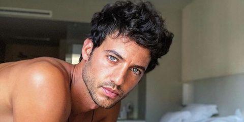 Jorge Brazález desnudo en Instagram