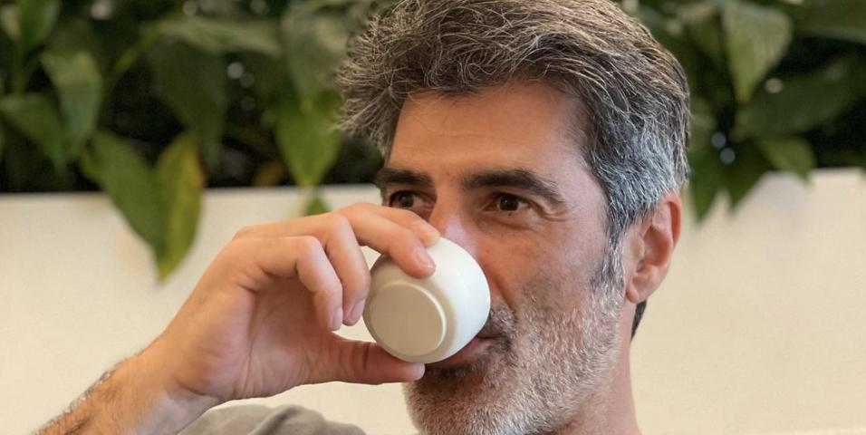 Jorge Fernández y los beneficios del café