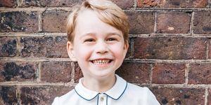 El hijo de los duques de Cambridge celebra su quinto cumpleaños.