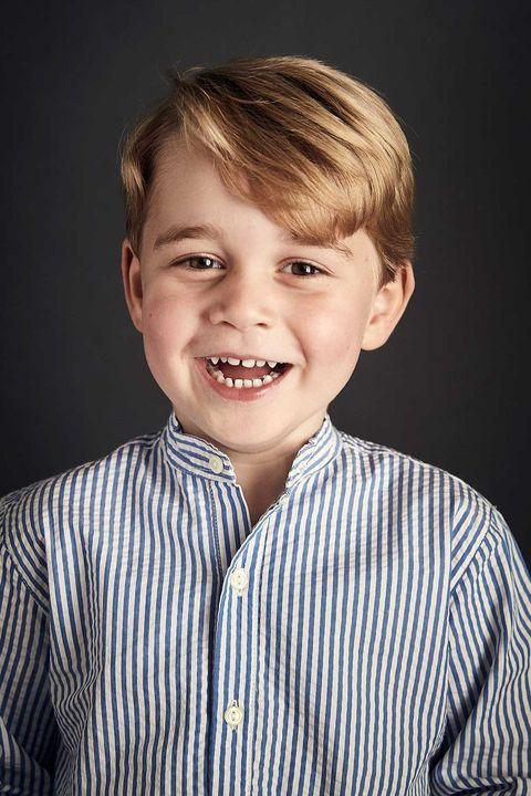 Jorge de Inglaterra cumple 5 años