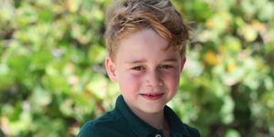 Jorge de Inglaterra seis años foto oficial