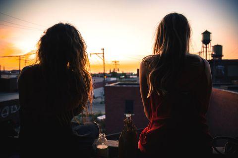 Hair, Sky, Backlighting, Snapshot, Sunlight, Photography, Black hair, Sunset, Evening, Long hair,
