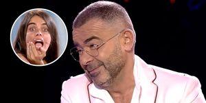 Jorge Javier Vázquez le toma el pelo a Violeta durante su entrevista tras su salida forzada de 'Supervivientes'