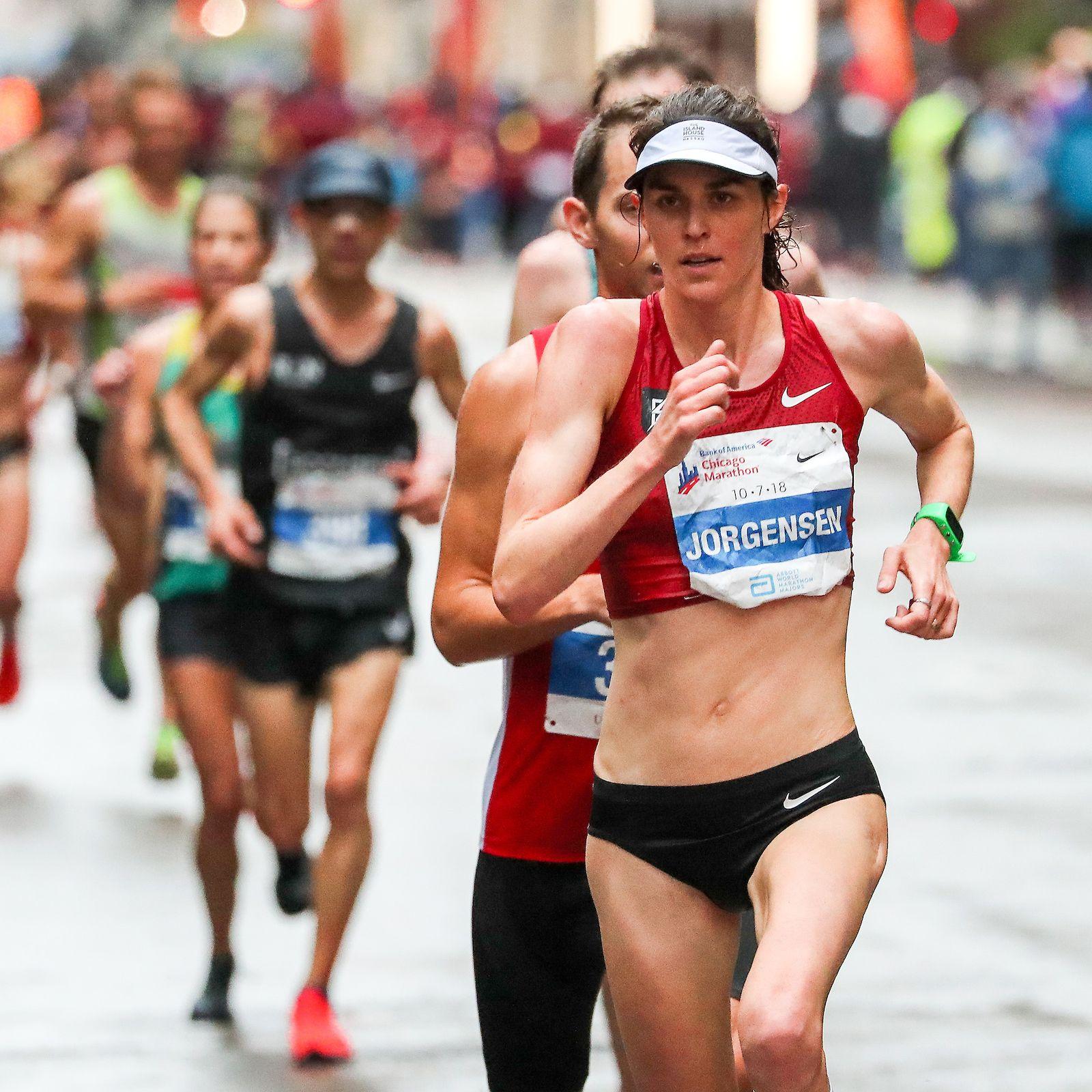 Pro Marathoner Gwen Jorgensen Undergoes Heel Surgery