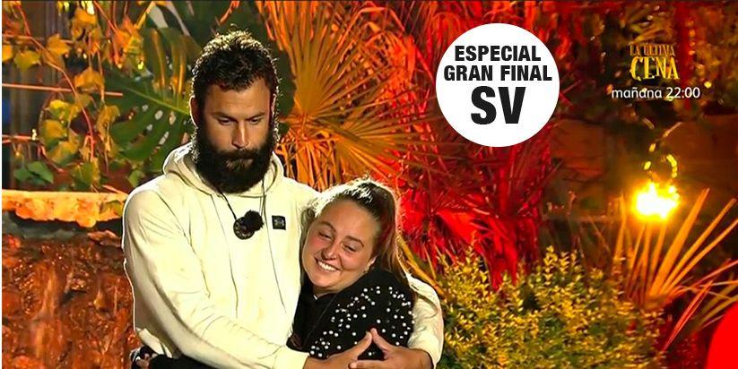 """Supervivientes 2020: Rocío Flores cae a un paso de la final ante Jorge: """"Me voy feliz"""""""