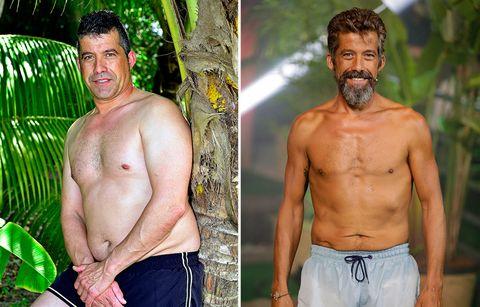 De Rosa Benito a Chiqui, pasando por Edmundo Arrocet. Estos son los cambios físicos más llamativos de los famosos que han pasado por el reality 'Supervivientes'.