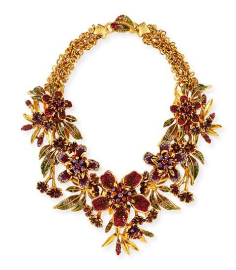 Necklace, Jewellery, Fashion accessory, Leaf, Body jewelry, Chain, Jewelry making, Gemstone,