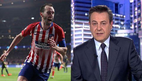 José Ribagorda y Diego Godín