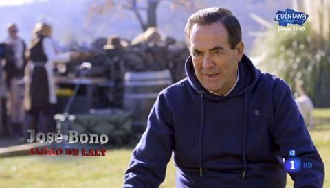 el político en una de sus intervenciones en televisión