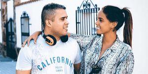 Gloria Camila felicita a su hermano José Fernando por su cumpleaños
